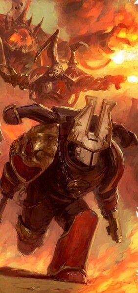 The Wrath Khorne Daemonkin Faction. Blood for the Blood God, Skulls for the Skull Throne!