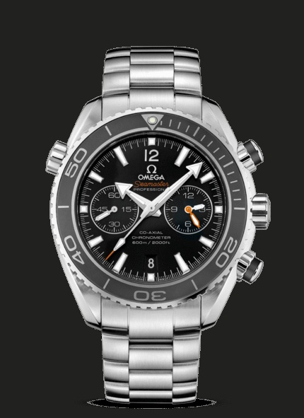 OMEGA Watches: Seamaster Planet Ocean Chrono - Steel on steel - 232.30.46.51.01.001