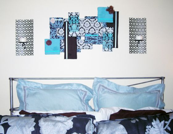 DIY Styrofoam Wall Art