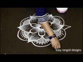 Margazhi kolam designs | Dhanurmasam muggulu | latest rangoli designs - YouTube