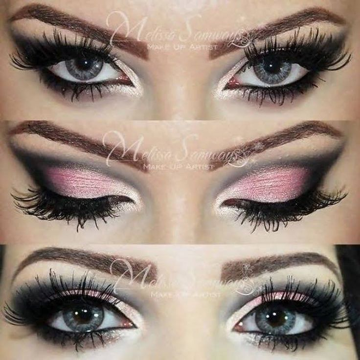 #2 Top Look of the Week: Mel S.'s Pink and Black is the perfect date night look. Don't miss her video tutorial to learn how she got this stunner: http://www.preen.me/look/14126033