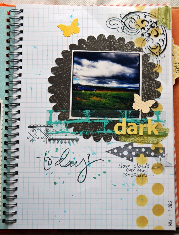 Life is a Canvas: Smash Book Challenge Day 2