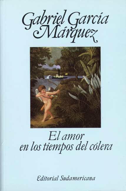 """""""El amor en los tiempos del cólera"""" - Claro; del señor García Márquez. Y sus entrañables Fermina y Florentino."""