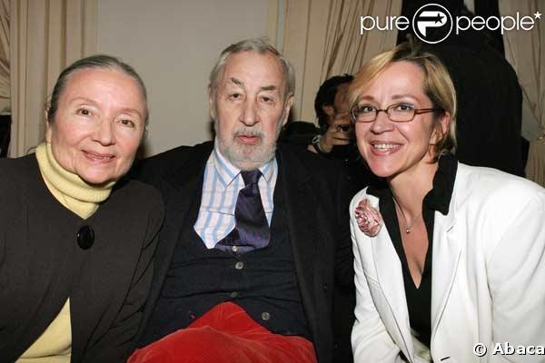 La famille Noiret : Monique, Philippe et Frédérique
