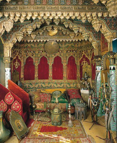 Maison de Pierre Loti à Rochefort Le Salon turc, l une des pièces de la maison de l écrivain français Pierre Loti, à Rochefort.