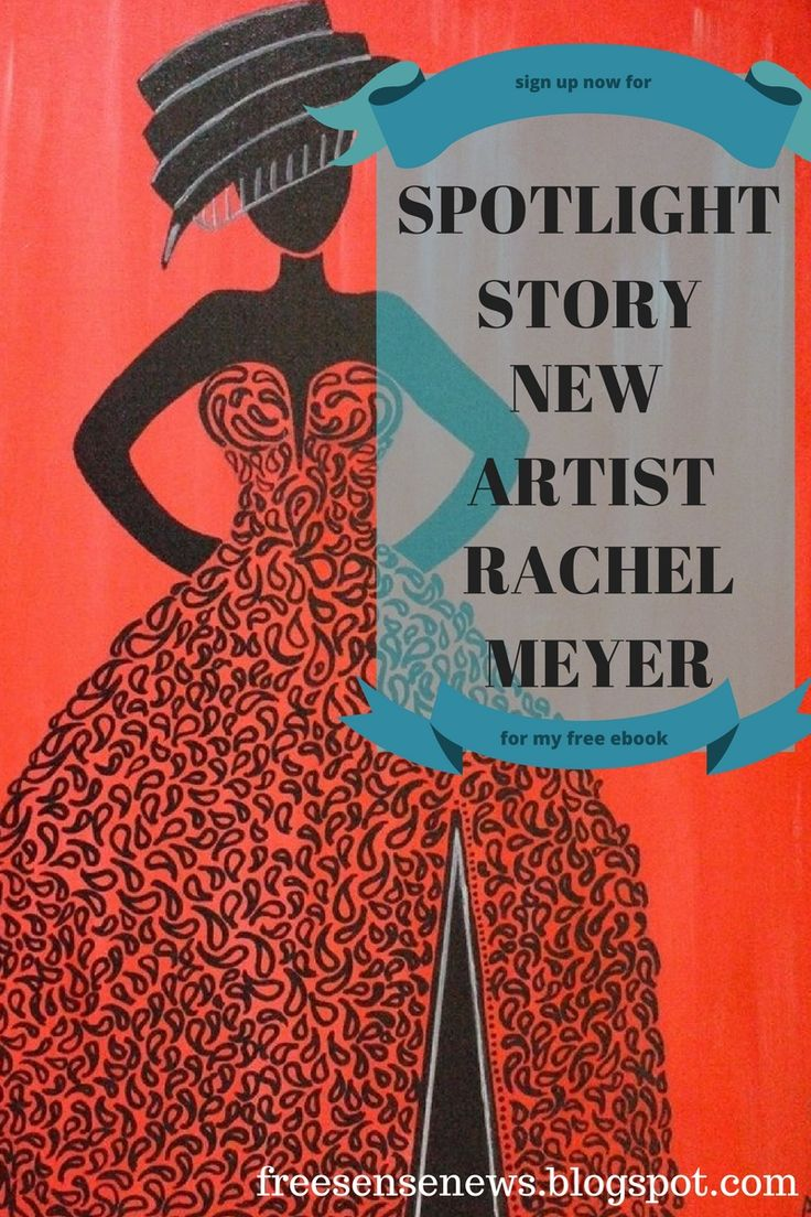 Read about new artist Rachel Meyer in spotlight stories at…