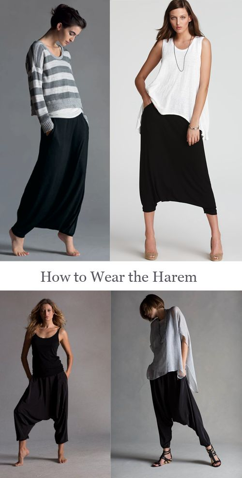 Hey fellow pinners, what do you think about these harem pants? I've been obsessed with them and wondering what others think - ridiculous? Chic? Come vote!  http://indiapiedaterre.com/2013/07/07/these-harem-pants-yay-or-nay/
