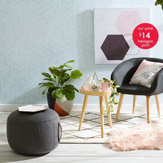 I never though that Kmart would sum up, in a single picture, how I want my house to look....