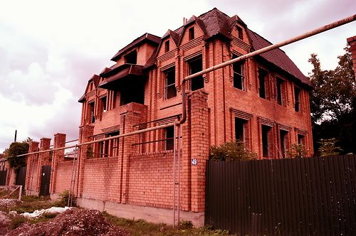 A house in #Katayama, #Grosny, #Chechnya.
