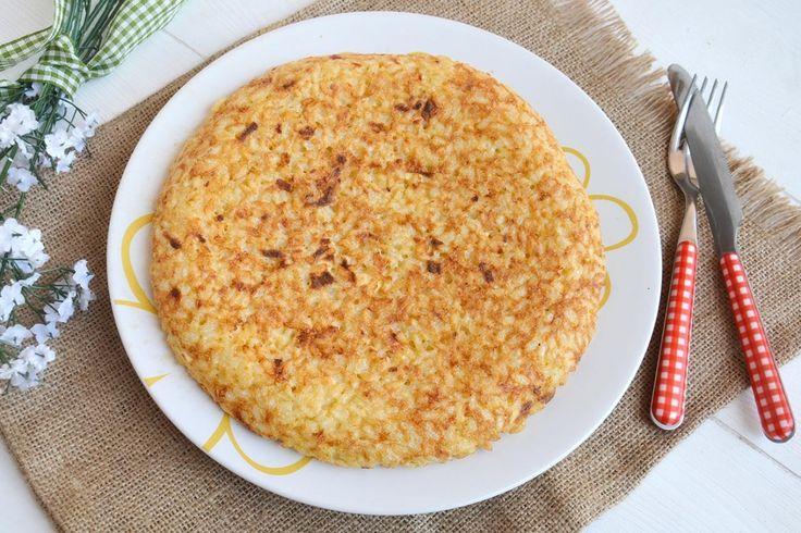 Frittata di riso, scopri la ricetta: http://www.misya.info/ricetta/frittata-di-riso.htm