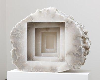 Anish Kapoor | Blind, 2013 | Alabaster #art #sculpture