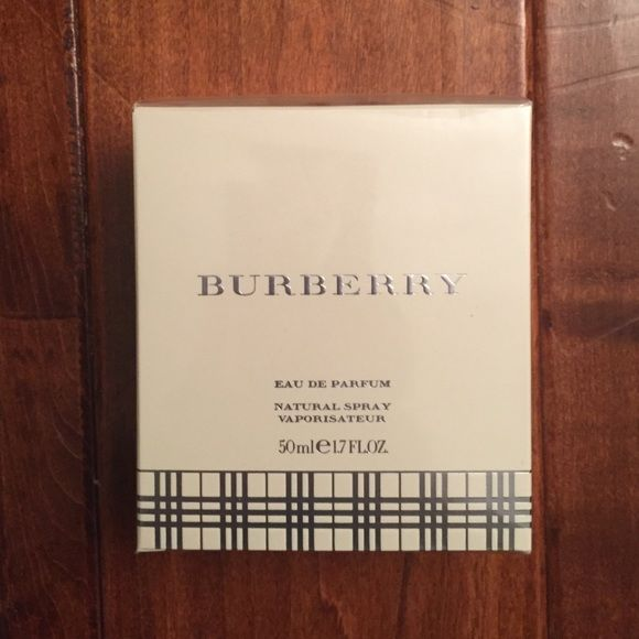 Burberry Perfume BRAND NEW IN BOX Burberry Perfume! Has a beautiful smell! 1.7 FL.OZ. Great Price!! Burberry Other
