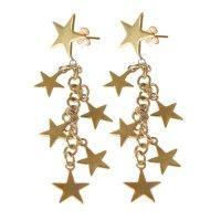 Oorbellen All stars goud