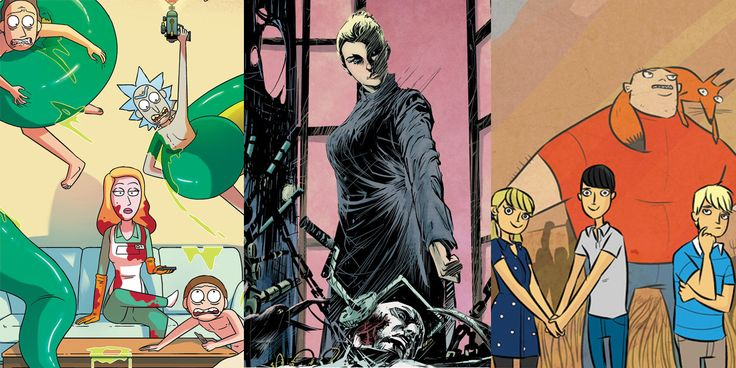 Oni Press' solicitations for September 2017 include Made Men, Rick and Morty, The Damned: Ill-Gotten, Kaijumax, Bad Machinery and more!