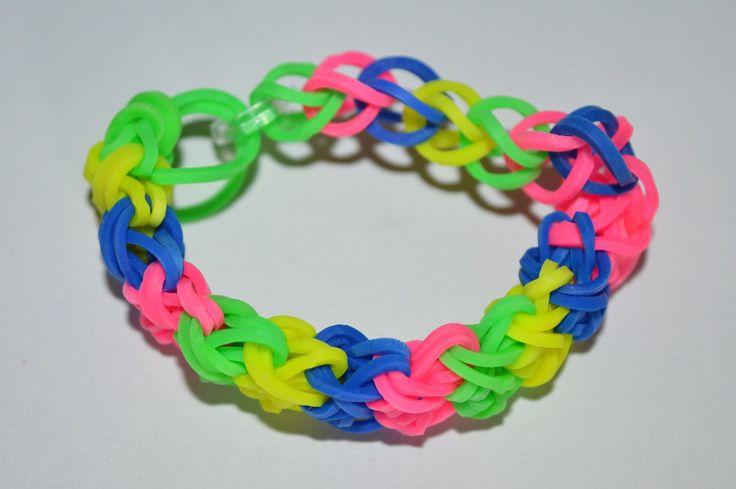 rainbow loom bracelets step by step instructions