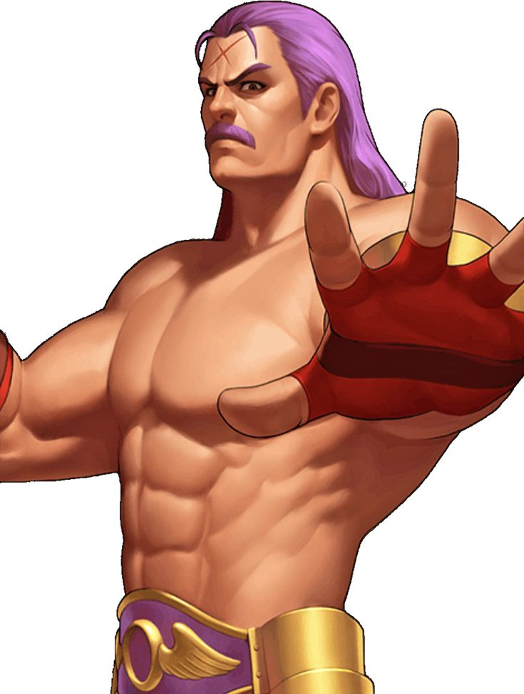 King of Fighters 98 UM OL Wolfgang Krauser by hes6789