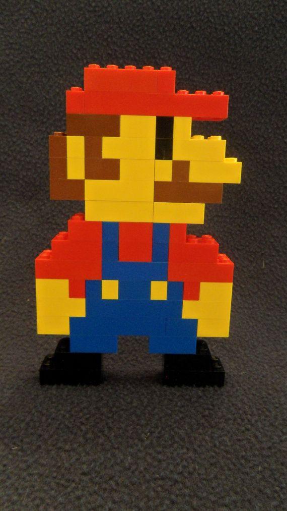 LEGO Super Mario Characters by TeaShayOhBeeDesigns on Etsy, $15.00