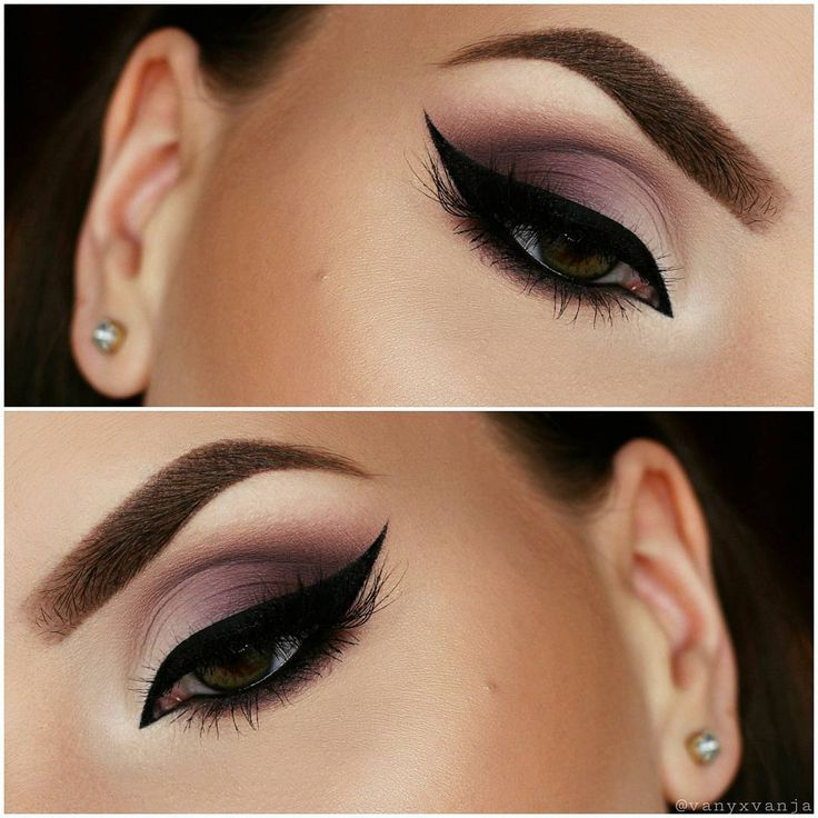 """""""Hey Dolls Here is the first look with my new Zoeva En Taupe Palette. @zoevacosmetics I love the cooI toned purple shades ..by the way.... this is my…"""""""