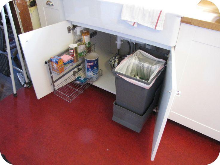 Under Kitchen Sink Cabinet