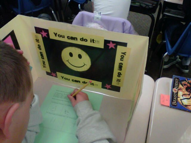A definite must for when taking tests.  I've seen these before, but love how these are decorated and encouraging!  YAY!
