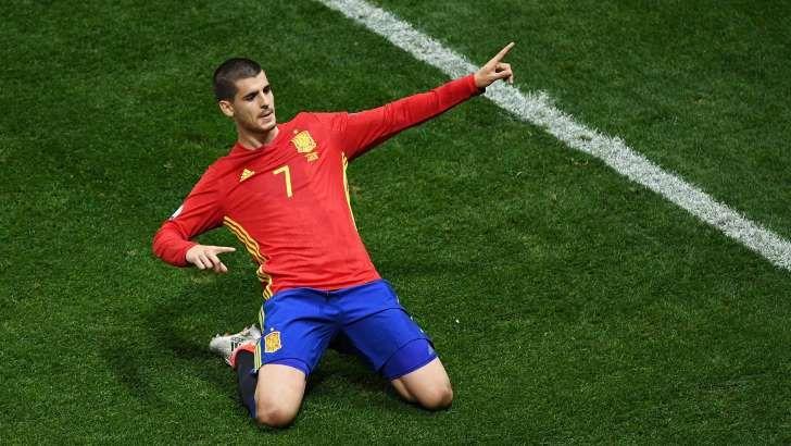 Alvaro Morata 2016 Espagne republique tcheque l'Espagne revient