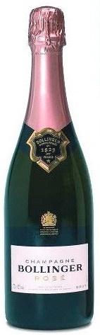 Bollinger rosé champagne demi-bouteille #half #flesje #champagne