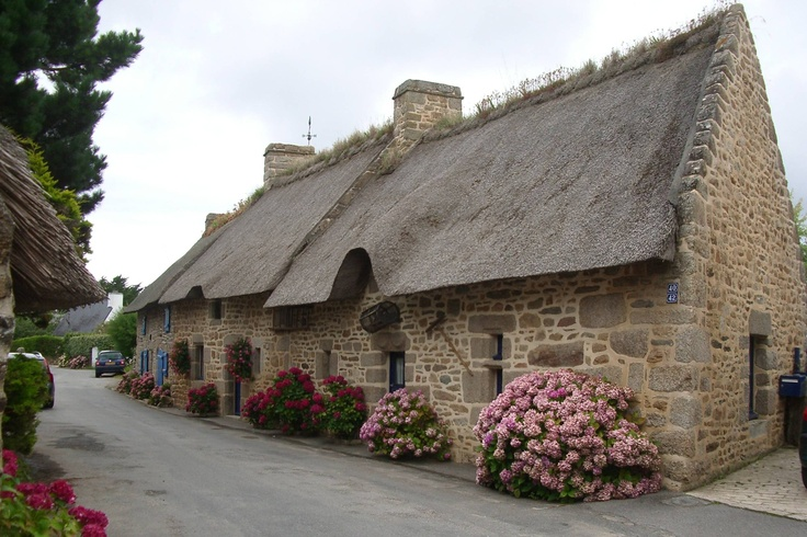Cottage (orne), Brittany, France, 2011