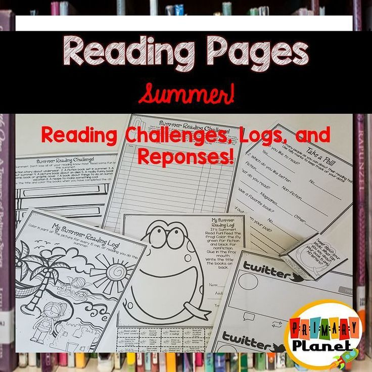 Everything you need for your summer reading program! Reading challenge reading logs and fun reading responses! #linkinprofile #teacherspayteachers #tpt #teachersofinstagram #teachersofig #iteachtoo #teachingreading