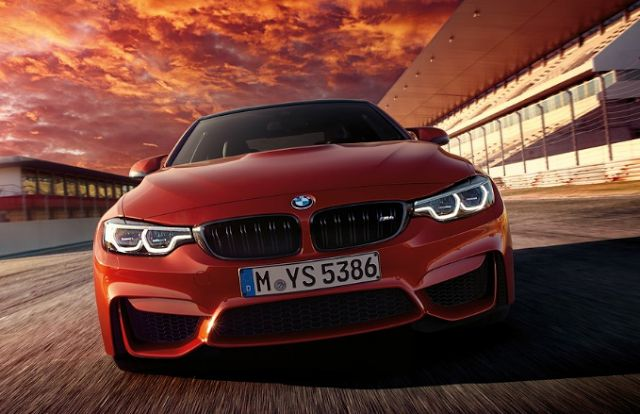 2018 BMW M4 Coupe Front
