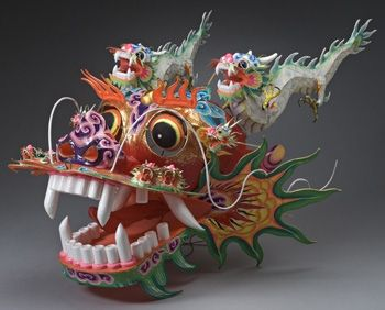 Wafting on a Heavenly Breeze: Hand-Painted Kites from China | Middlebury College Museum of Art