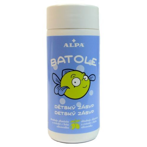 ALPA BATOLE baby Powder bath with olive oil for Skin Regeneration 100ml Czech