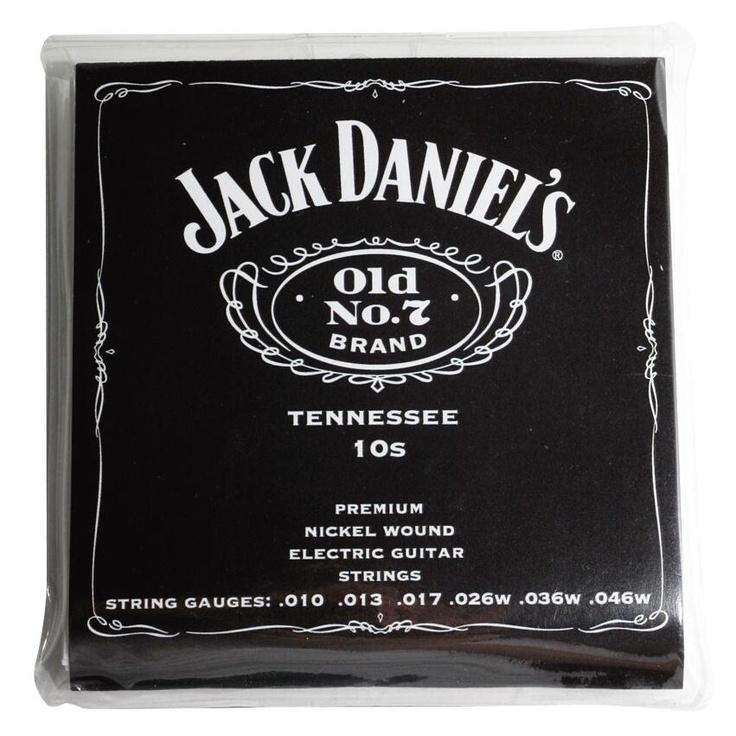 Jack Daniels Cuerdas de guitarra electrica  $10,99 (euros) EMP Rock Mailorder España : La más grande venta por correo de Merchandising Oficial Musica Metal / Hard rock / Heavy / Gótico / Militar/ Lolita & Punk Style ..de Europa !