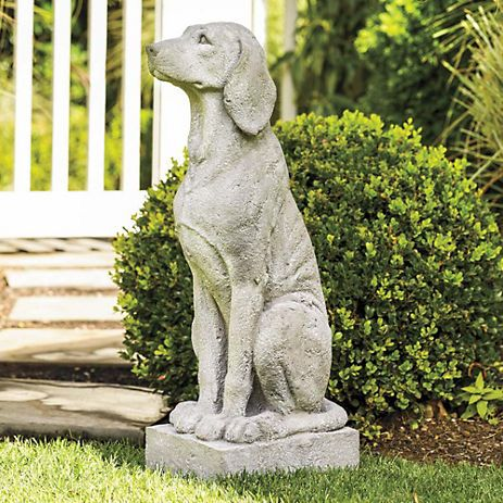 Dog Breed Garden Statues