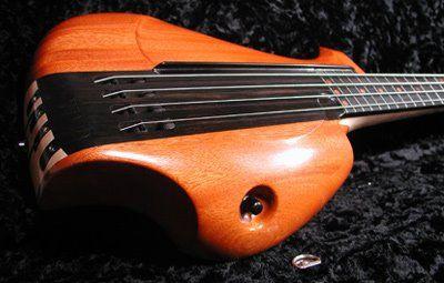 Padilla Bass Guitar Closeup