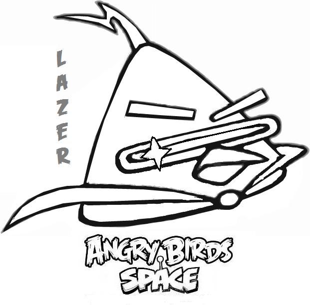 Kleurplaten En Zo Angry Birds.Angry Bird Outline Google Search Space Coloring Pages