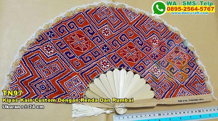 Kipas Kain Custom Dengan Renda Dan Rumbai WA/SMS/Telp : 082324687800 Pin BBM : 5D1A4BF2  #KipasKain #DistributorKain #souvenirMurah