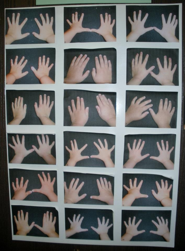 Take pics of the hands of each child in the class and during Back to School Night encouraged th e parents to identify their child's hands. It's harder than you think www.facebook.com/pages/For-the-Children/170943436350531?ref=tn_tnmn