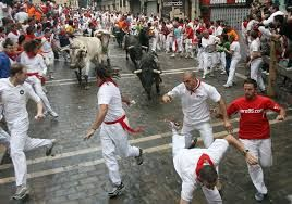 spain running of the bulls - Google Search