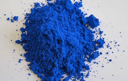 The rich, new blue pigment scientists have found. (Photo: Oregon State…