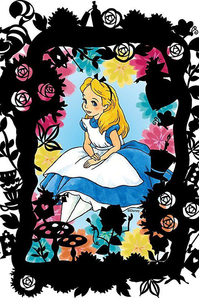 ディズニー 不思議の国のアリス Alice Iphone 640 960 壁紙 画像 スマポ アリス 不思議の国のアリス ディズニー イラスト