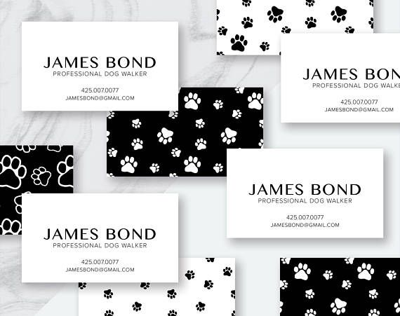 Printable Custom Personalized Business Card Fun Business