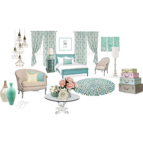 """Vintage bedroom"" by viktoria-vepy on Polyvore"