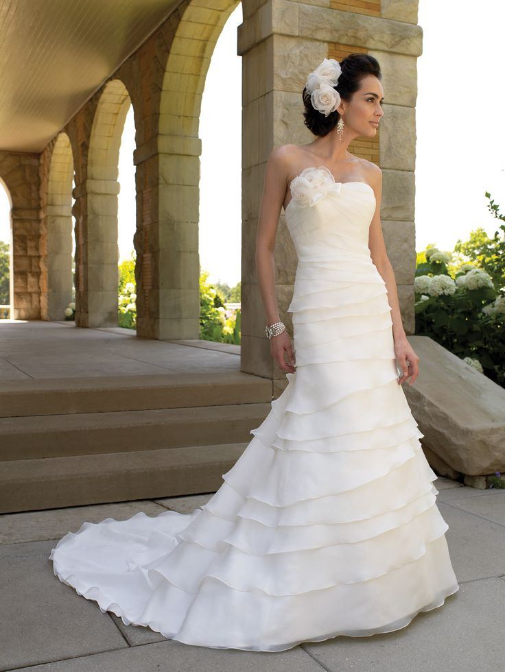 wedding dresses and bridals gowns by david tutera for mon cheri for every bride at an