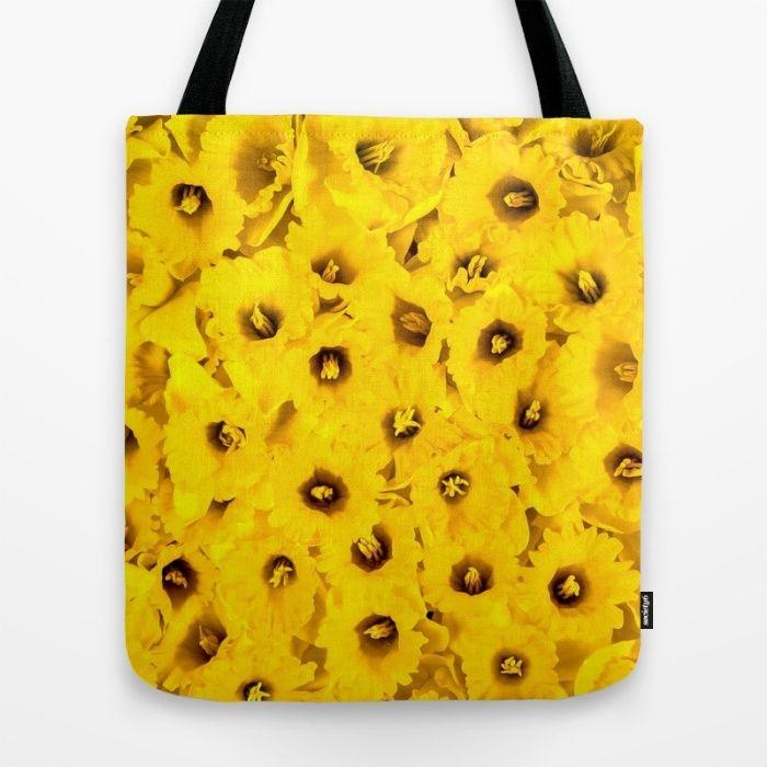 Daffodils en-masse Tote Bag #Daffodils