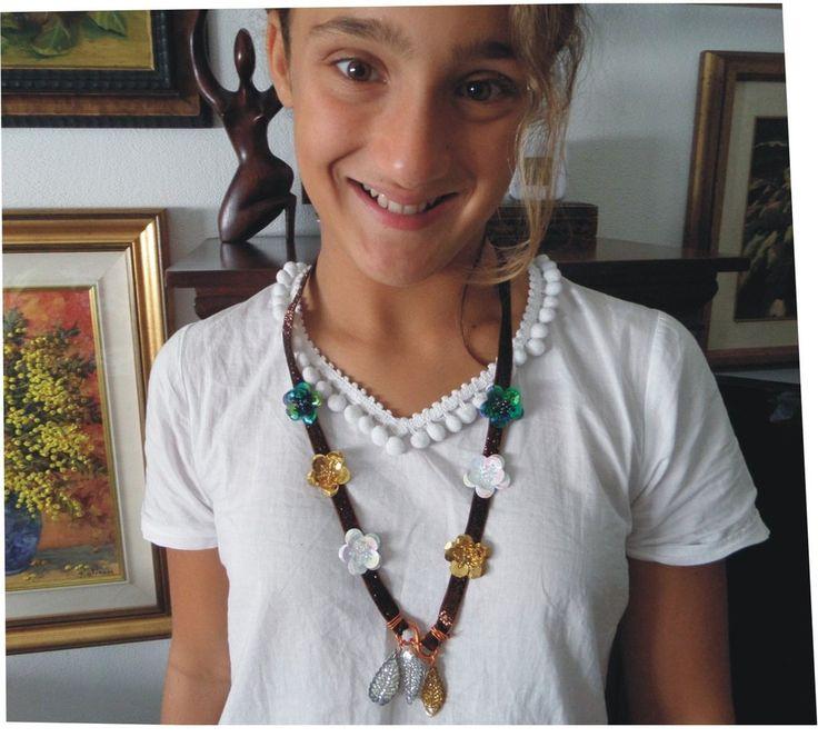 collana in paillet, by Laboratorio Elisa Villalba, 7,00€ su misshobby.com