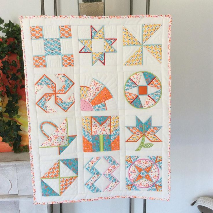 quilt in the hoop machine embroidery