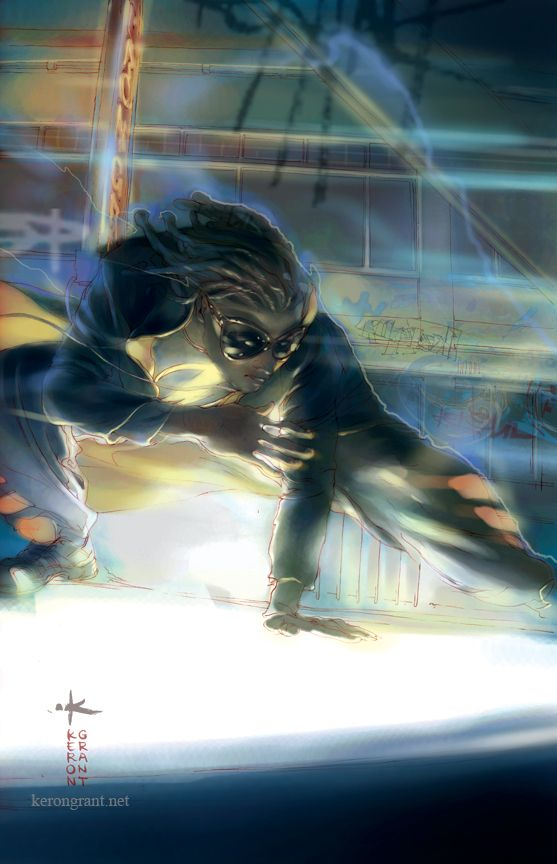 Virgil Hawkins - Static Shock - DC Comics