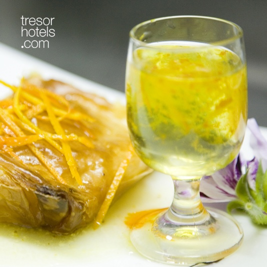 Trésor Hotels & Resorts_Luxury Boutique Hotels_#Greece_#Mani_ #Creative #Greek and International #cuisine and country-chic rooms with antique furniture at #Kyrimai Hotel.