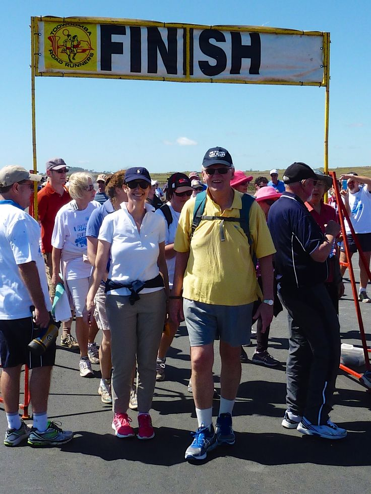 Jack and Paula participated in Run the Runway to raise money for Type1 #Diabetes for #OneWishOneCure on the weekend. #Toowoomba #MonashGroup #JackRHobbs