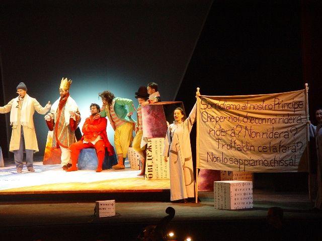 Opera Domani 2005, l'Amore delle Tre Melarance